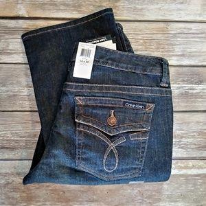 Calvin Klein Jeans Lean Bootcut size 14